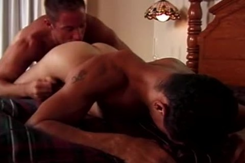 licking homosexual ass