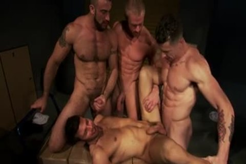 Well Hung men plowing