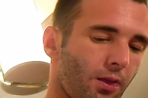 Full clip scene: A admirable innocent Room Service lad Serviced His 10-Pounder By A lad