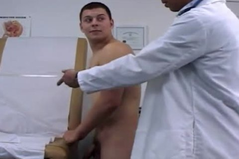 College lad disrobes For His Doctors fantasy That Comes To Life