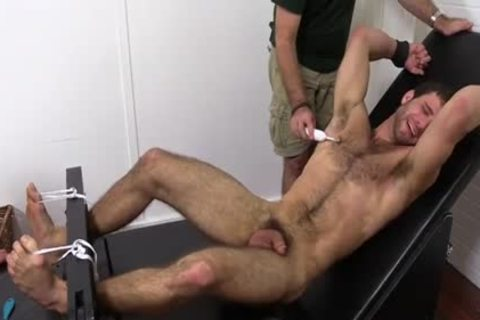 hairy guy gets Fetish pleasure Session