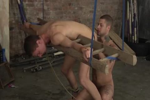 slavemaster Mickey plowing At Billys lusty wazoo