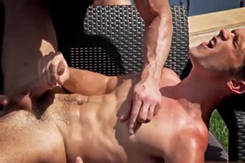 thick 10-Pounder Bodybuilder butthole sex With spunk flow