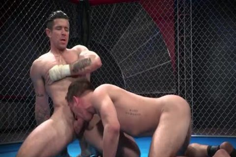 Wrestlers nail In The Ring