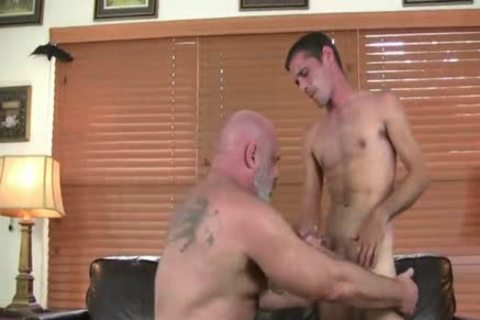 delicious curly chubby daddy bonks Hard His Son