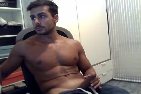 lusty guy With enormous cumshot