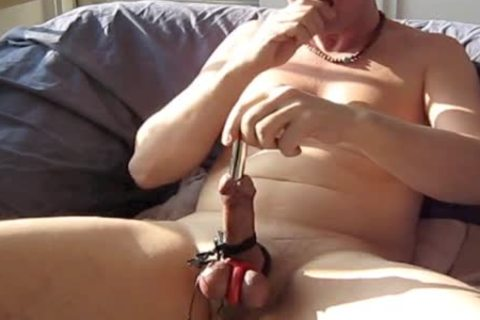 A horny Half Hour Of An Much Longer Edging Session With bdsm Masturbating. spunk flow Reps At The happy Ending.