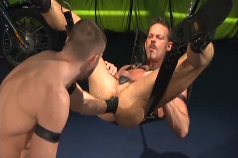 Leather drilling And Fisting: Colin Steele & Rick Van Sant