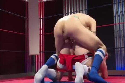 Wrestling Leads To pounding