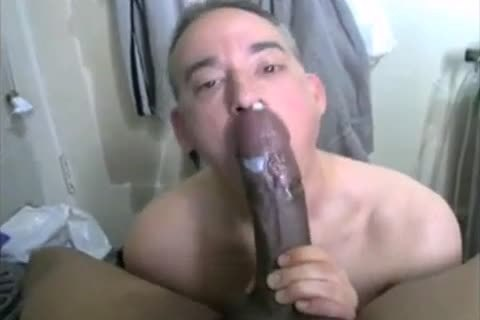 13 Minutes Of Eating black cum (BBC Worship)