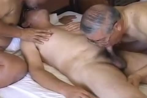Japanese old man gay porn