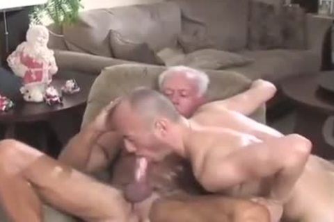 Cowboy daddy pounds yummy lad