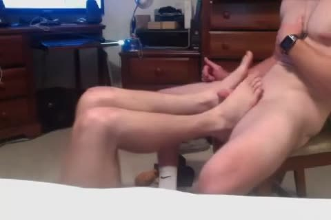 2 handsome str8 boyz Go homosexual,engulf penis,dildo first Time On web camera