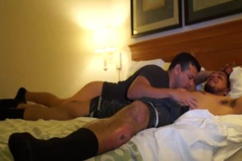 naughty Puerto Rican Straight chap bangs homo booty For