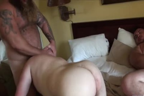 Gunner, Morgan, And Rusty engulf And pound