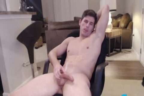 Adonis Summoning On Flirt4Free - Straight Ripped Hunk Fingers His a-hole
