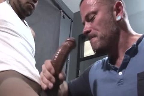 big ramrod homo blowjob With cumshot