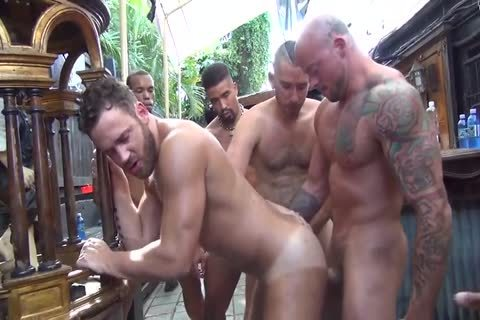 Logan Moore gets group team-poked – Part 2 (2017)