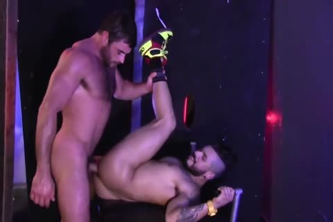 Getting Excited In A Nightclub For ass sex
