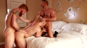 lovely boy - Dirk Caber with John Magnum anal Hook up