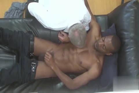 handsome Silver Daddy pounded By black juvenile Muscle