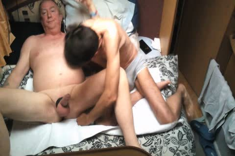 Wife Went Shopping older man Comes And bang Me
