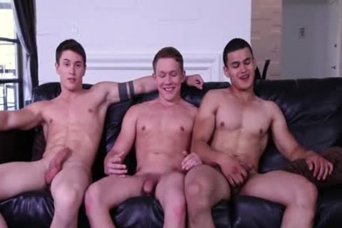 tasty man Summer 3WAY! College dicks Fool Around And plow!