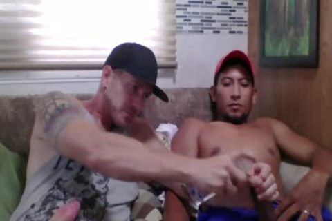 Straight Latino Construction Worker acquires First cook jerking From A dude (Martin two)