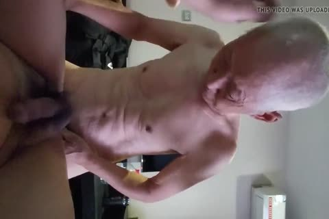 Chinese old chap Sucks & pokes His Younger friend