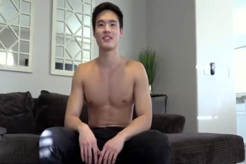 handsome asian Charlie Jerks Off Jclc0180
