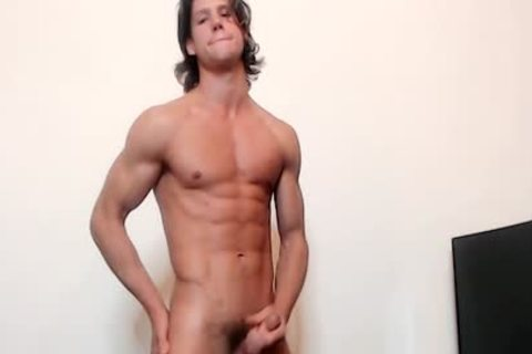 Ethan Opry On Flirt4Free - wild Ripped web camera Model Strokes His sleazy shlong