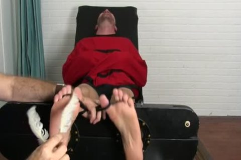 Clint Wrapped And Tickled