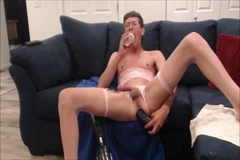 Dildos & fuck Machine For Crossdresser Panty twink Sissy prostitute