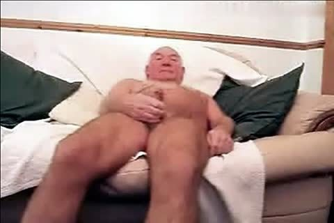 bushy Silver Grandfather jerk off Compilation