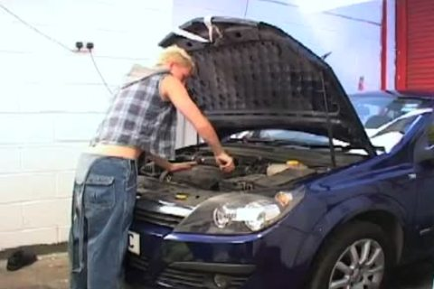 undresspedback pounding my mechanic for payment